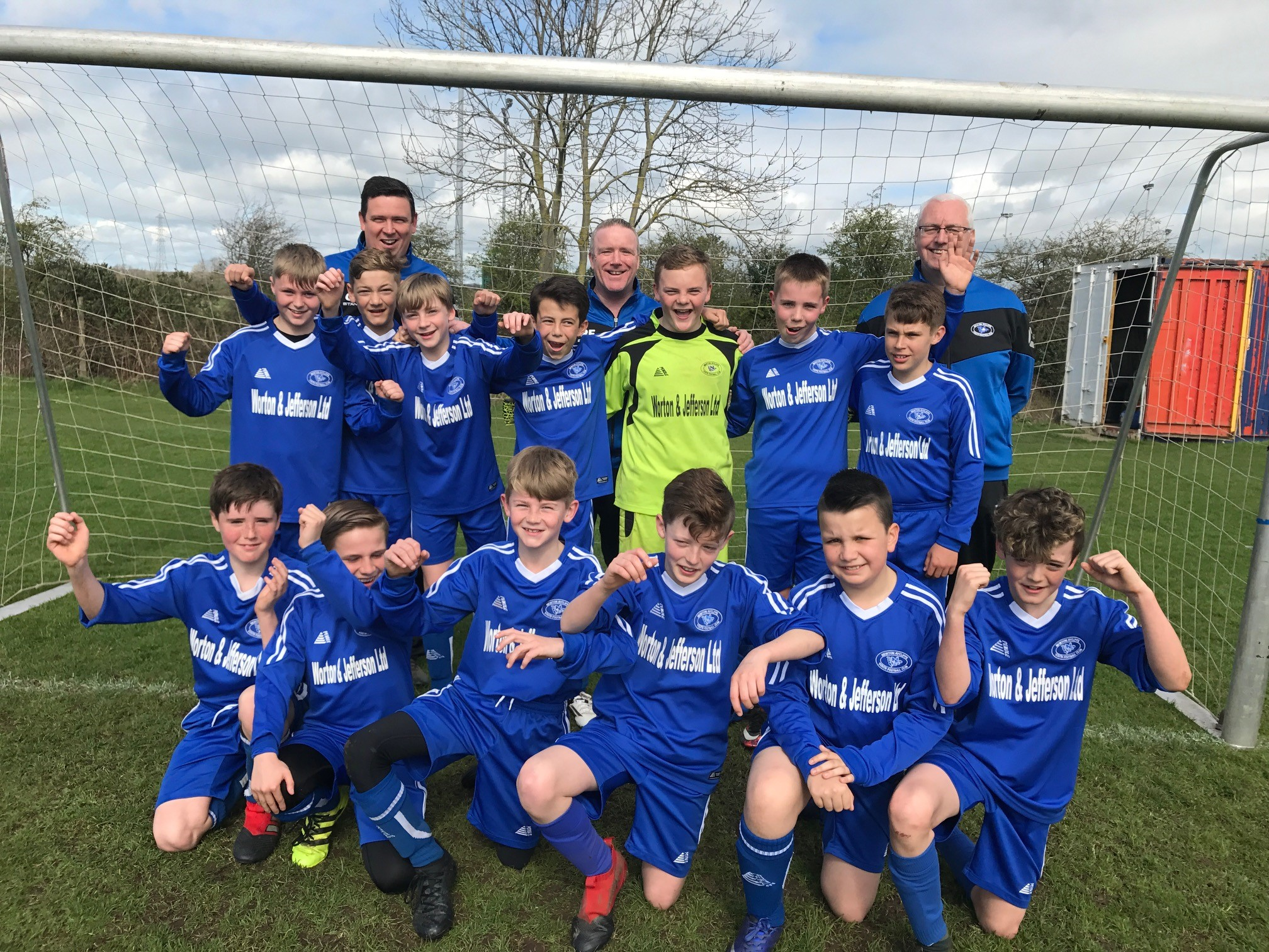 Youthy U12's in Cup Final
