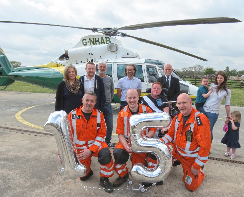 Fifteenth Birthday of Air Ambulance