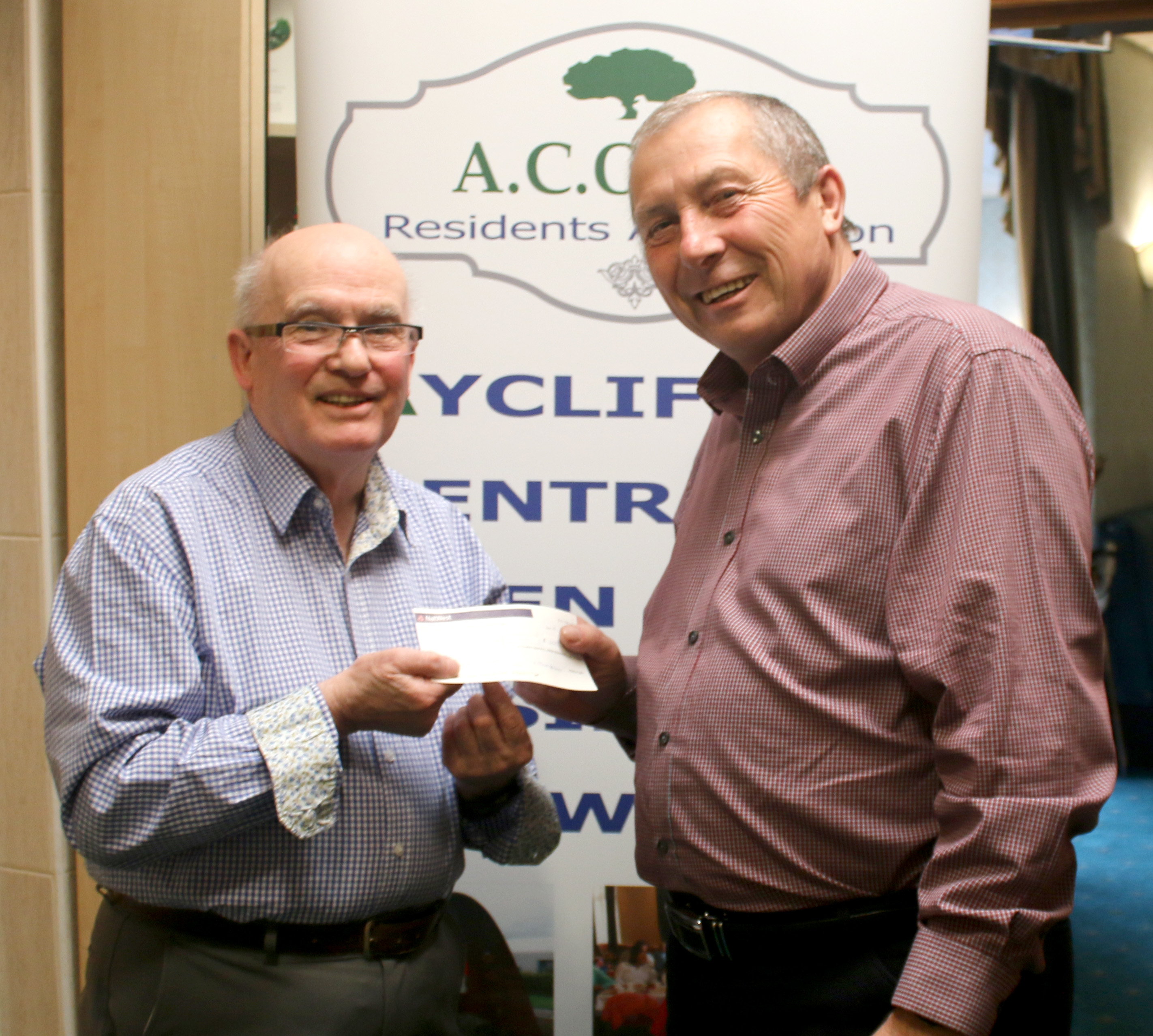 ACORN Donate £100 to Scanner Appeal