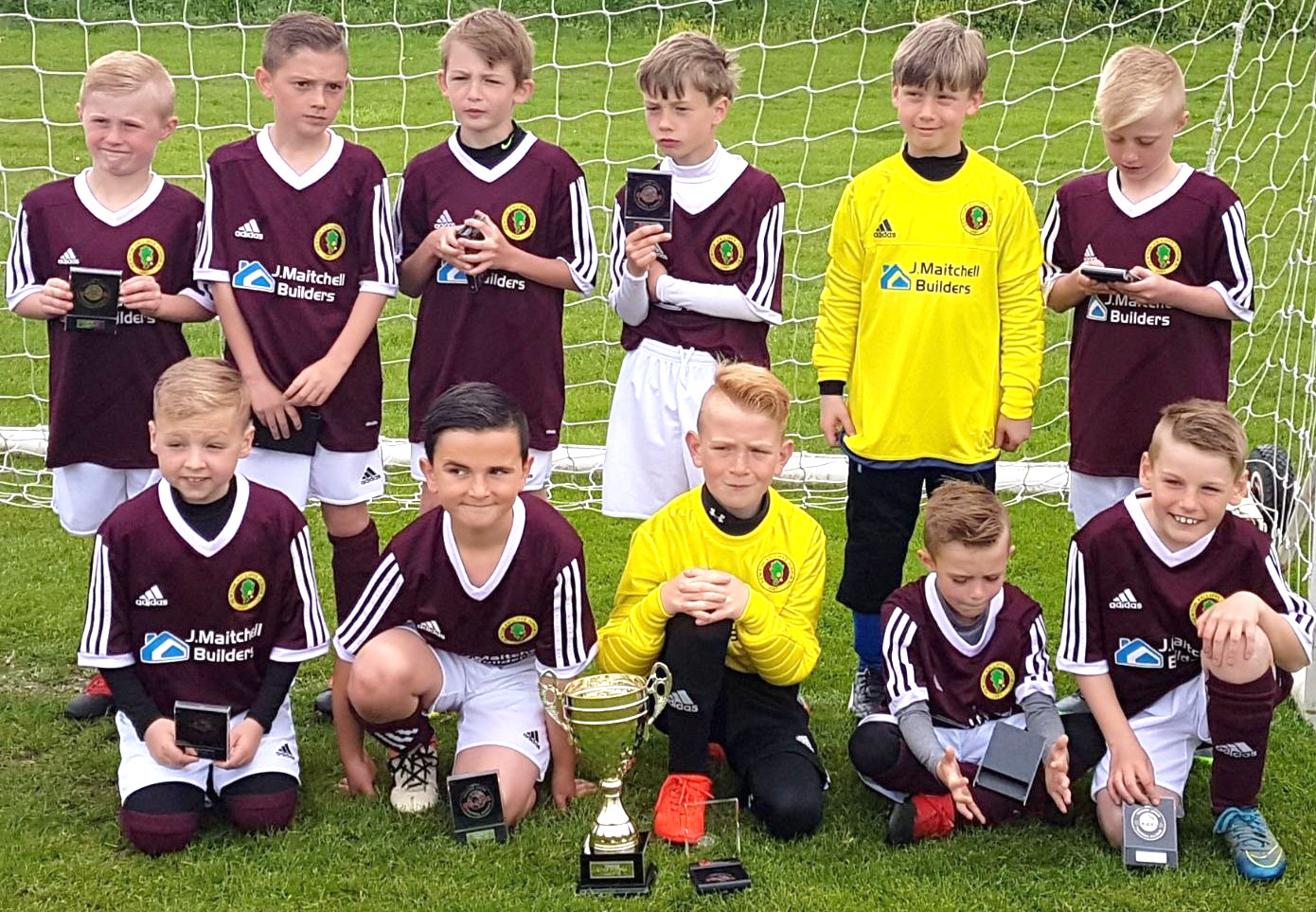 Superb Year for Aycliffe Junior Teams