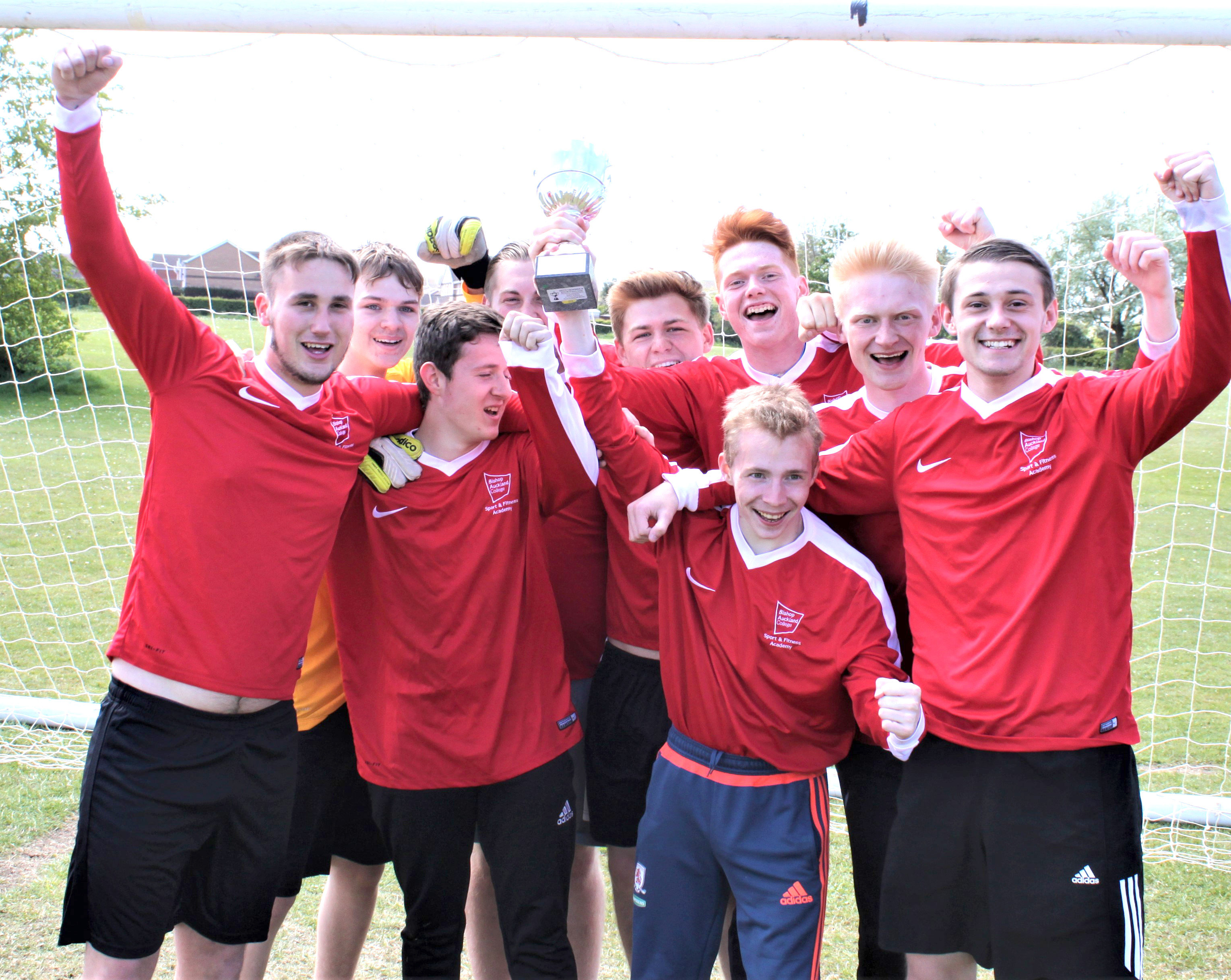Bishop Auckland College Win N.E. League Title