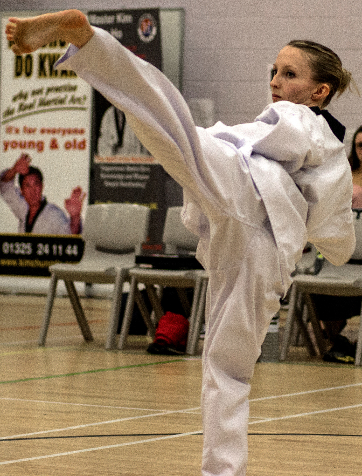 Newtonian Achieves Black Belt Goal