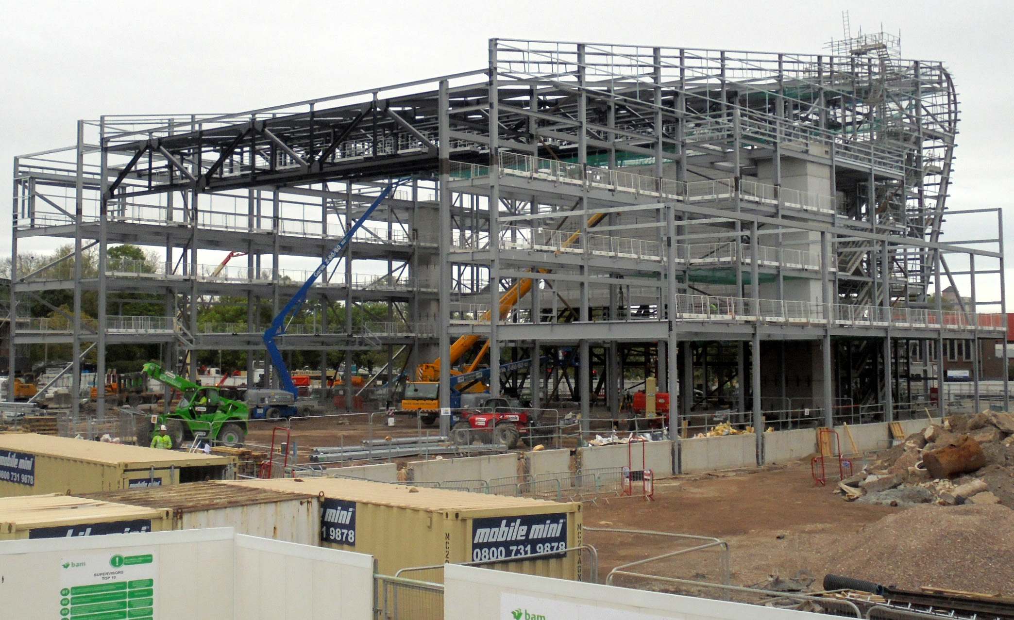 Aycliffe Steel Company Wins Contract in Hull