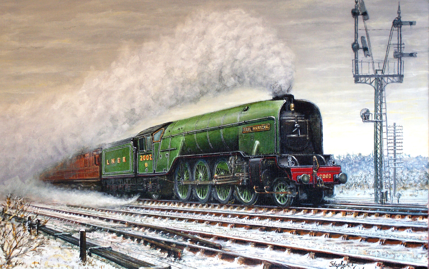 Aycliffe Painter Exhibits at Locomotion Museum