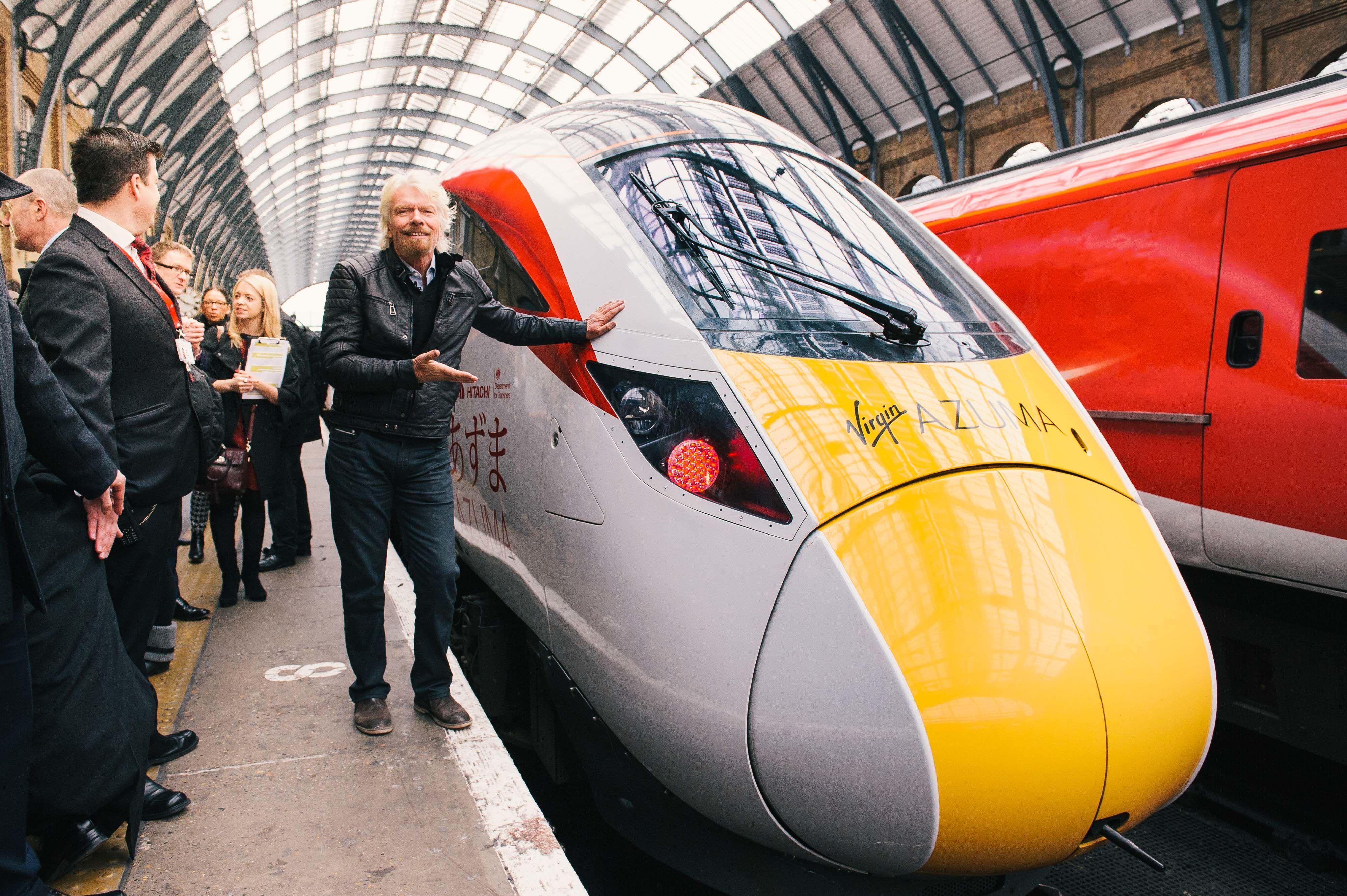 Hitachi Begin Work on Virgin Trains' Azume Fleet