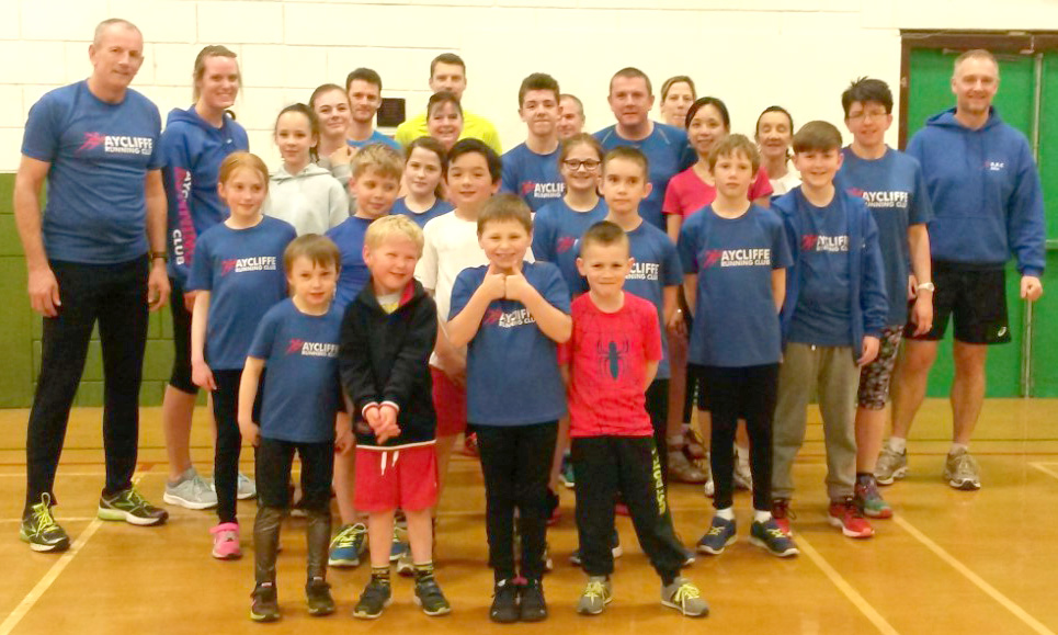 Aycliffe Running Club Launch Junior Section