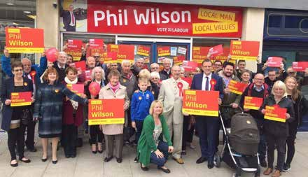 Labour Party Launch Election Campaign in Aycliffe
