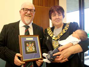 New Mayor Takes Over from Husband