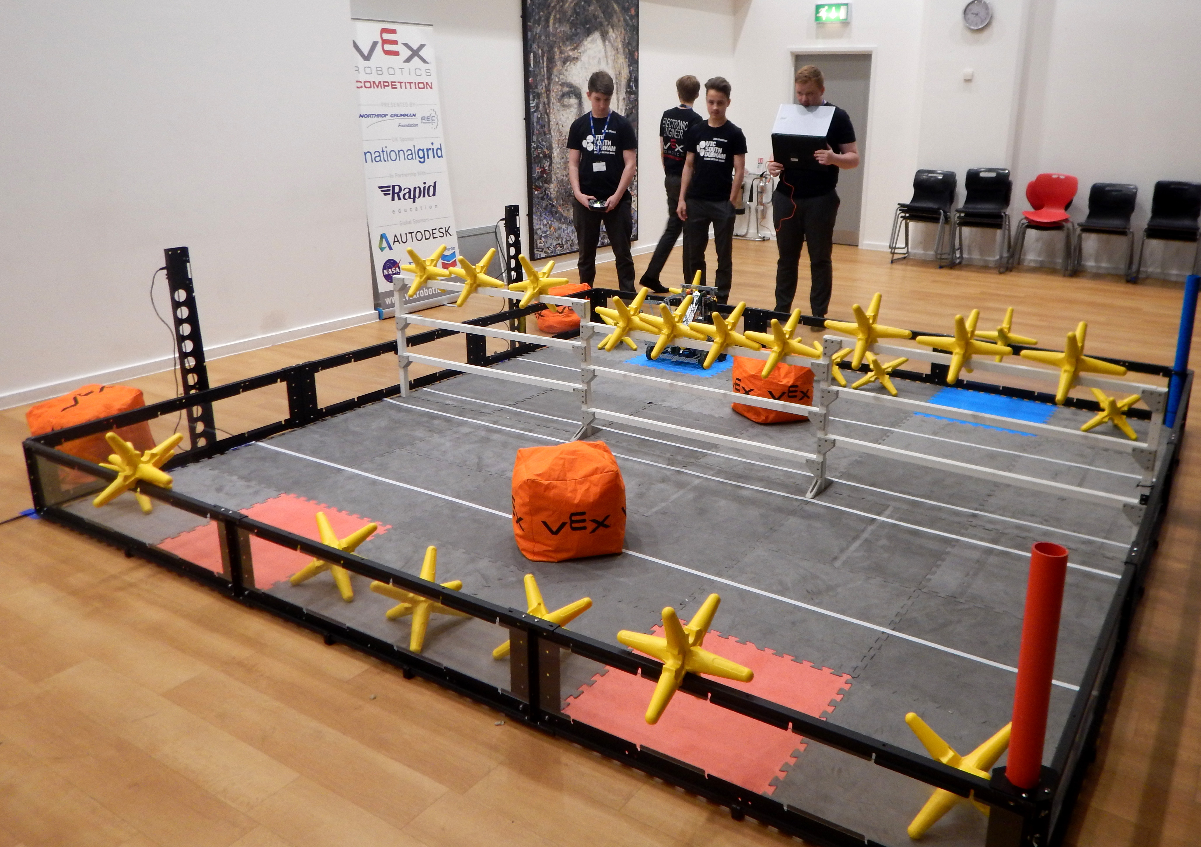 Aycliffe UTC Compete in Silverstone Competition