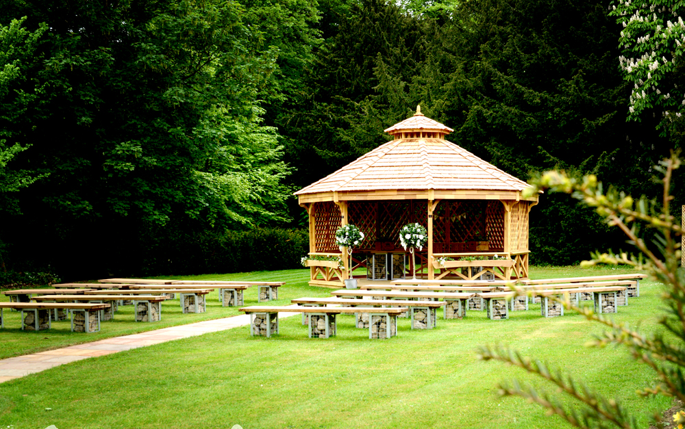 Walworth's Special Pavilion for Outdoor Weddings