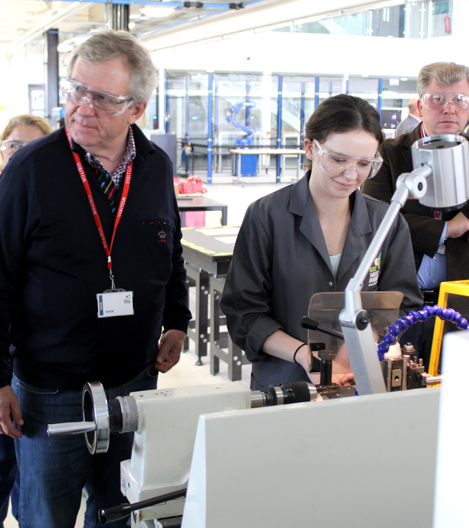 German College Staff Visit Aycliffe UTC