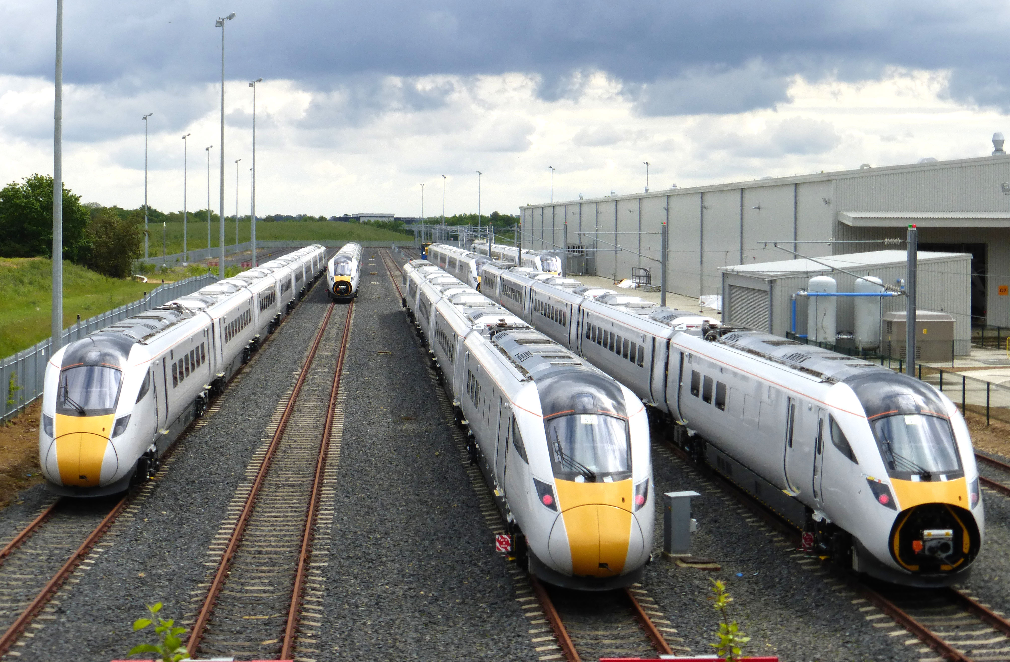 New Trains Ready to Deliver