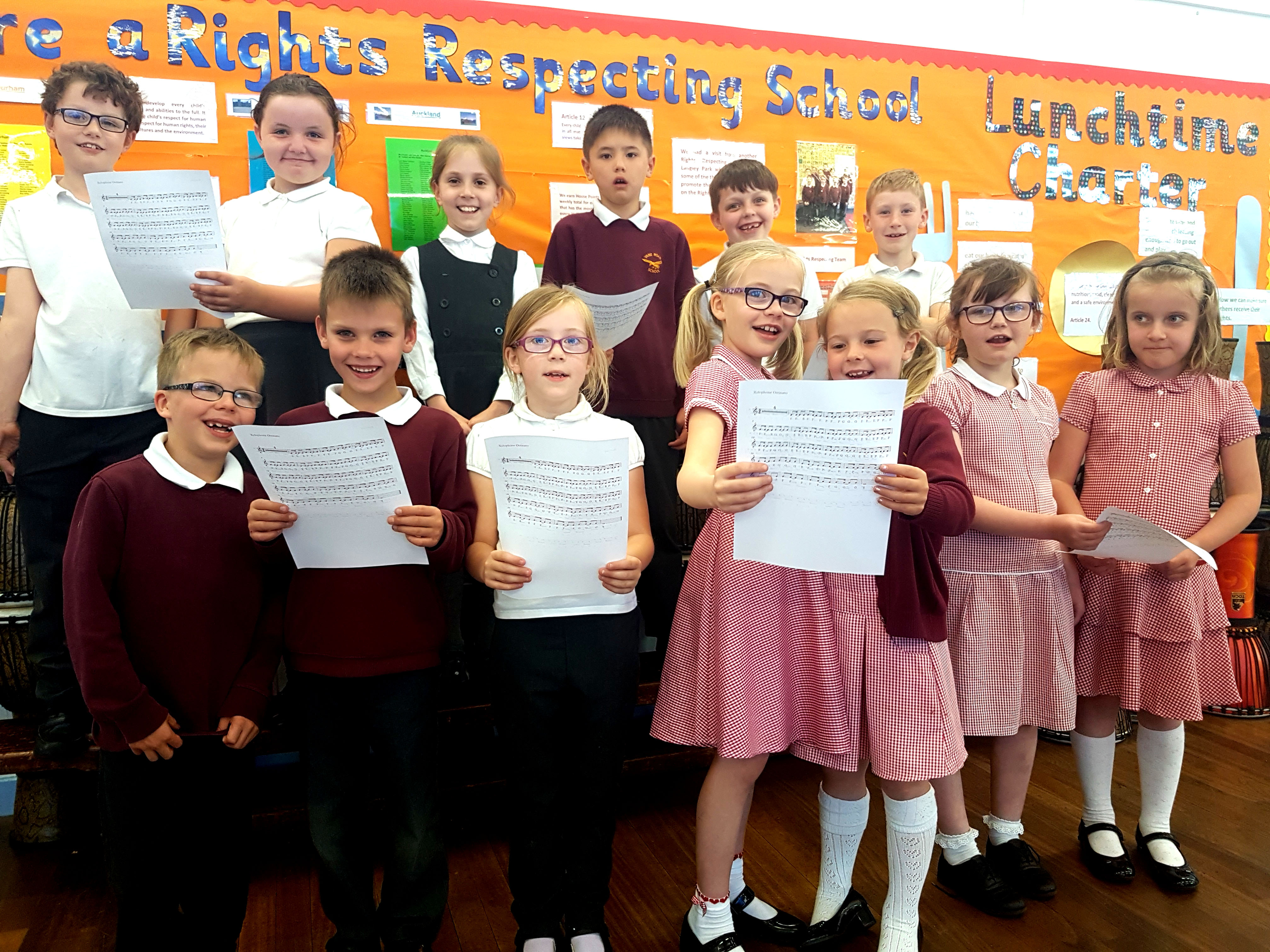 Schools Rehearse for Summer Concert