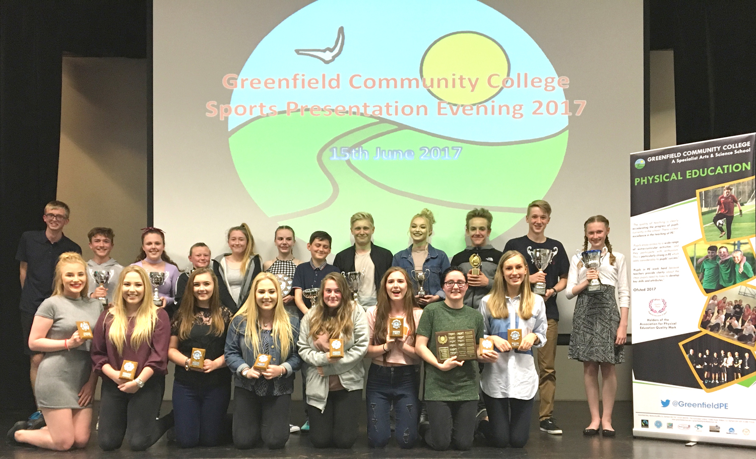Greenfield Campus Celebrates Sports Students' Success