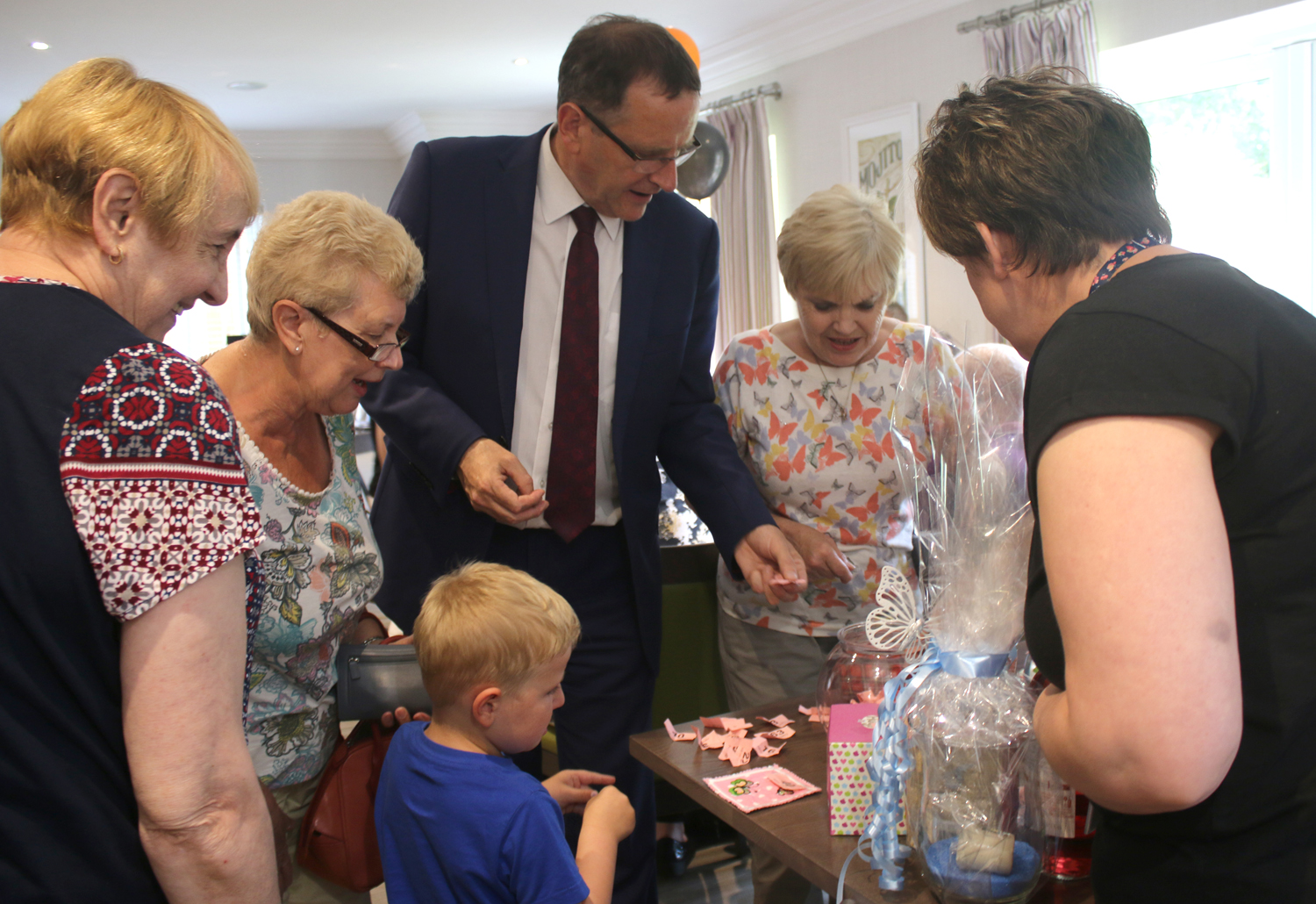 MP Visits Town Centre Care Home's Open Day