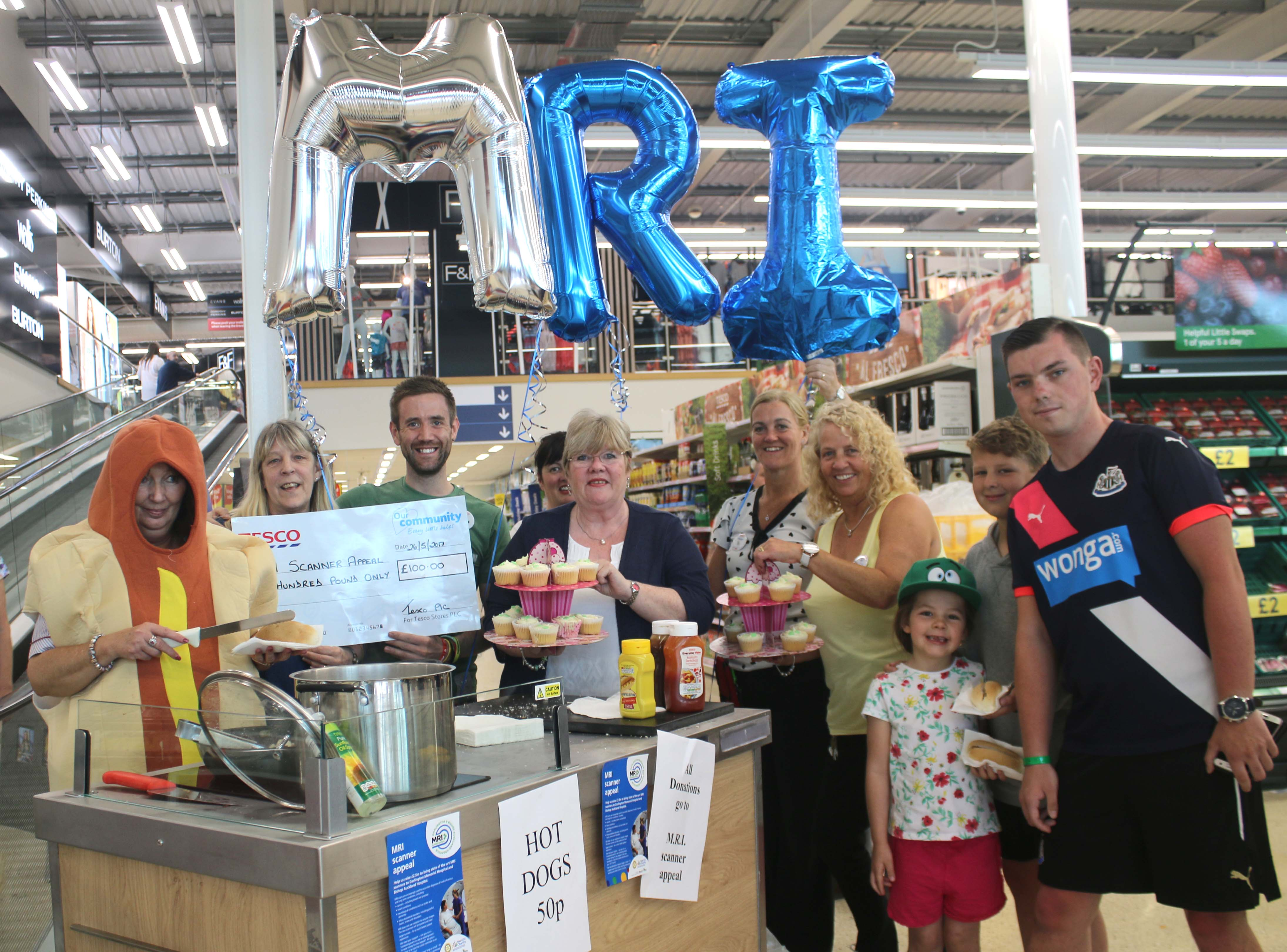 Tesco – Every Little Helps the MRI Scanner Appeal