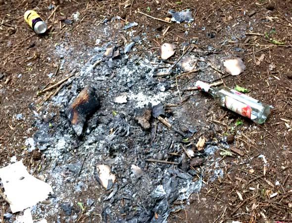 Danger of Camp Fires