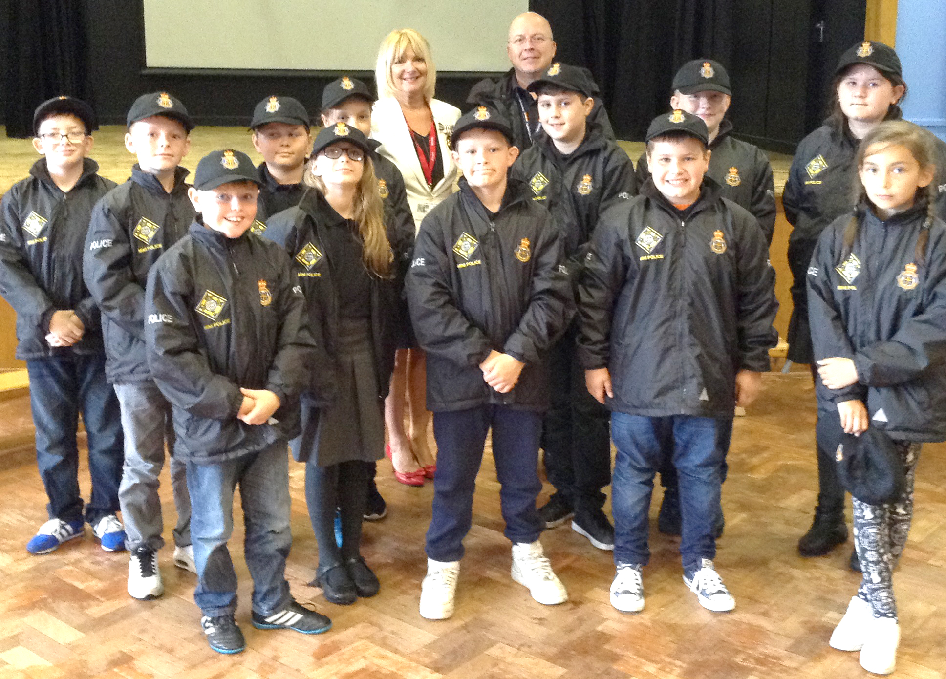 St. Joseph's School Mini Police