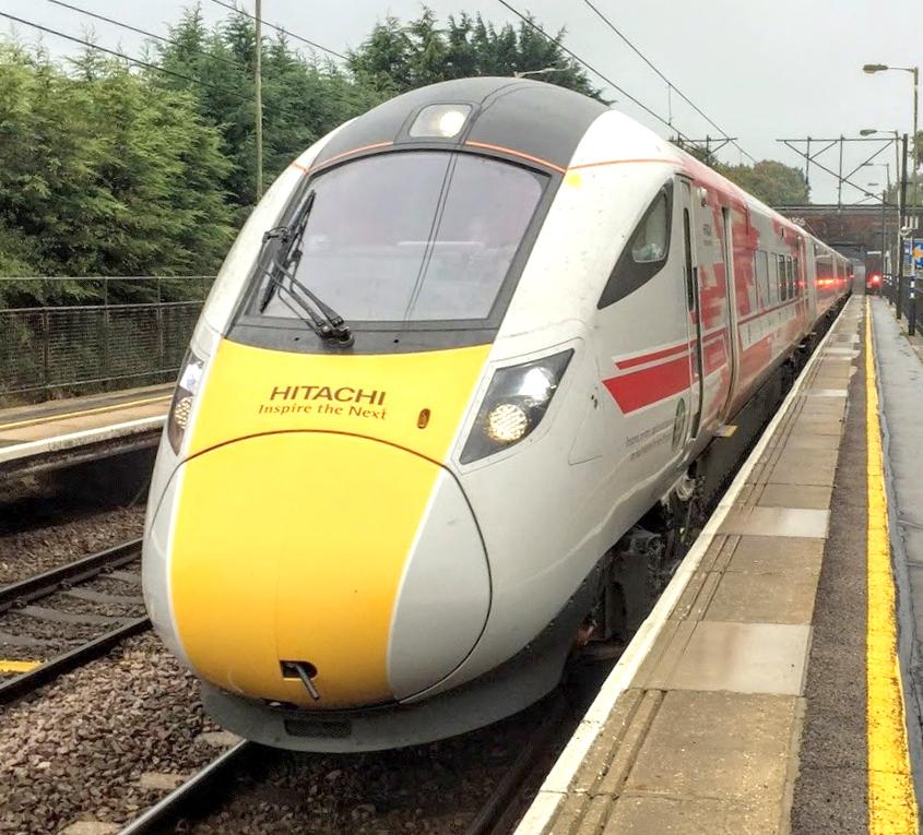 Hitachi Trains Pass Department for Transport Digital Tests