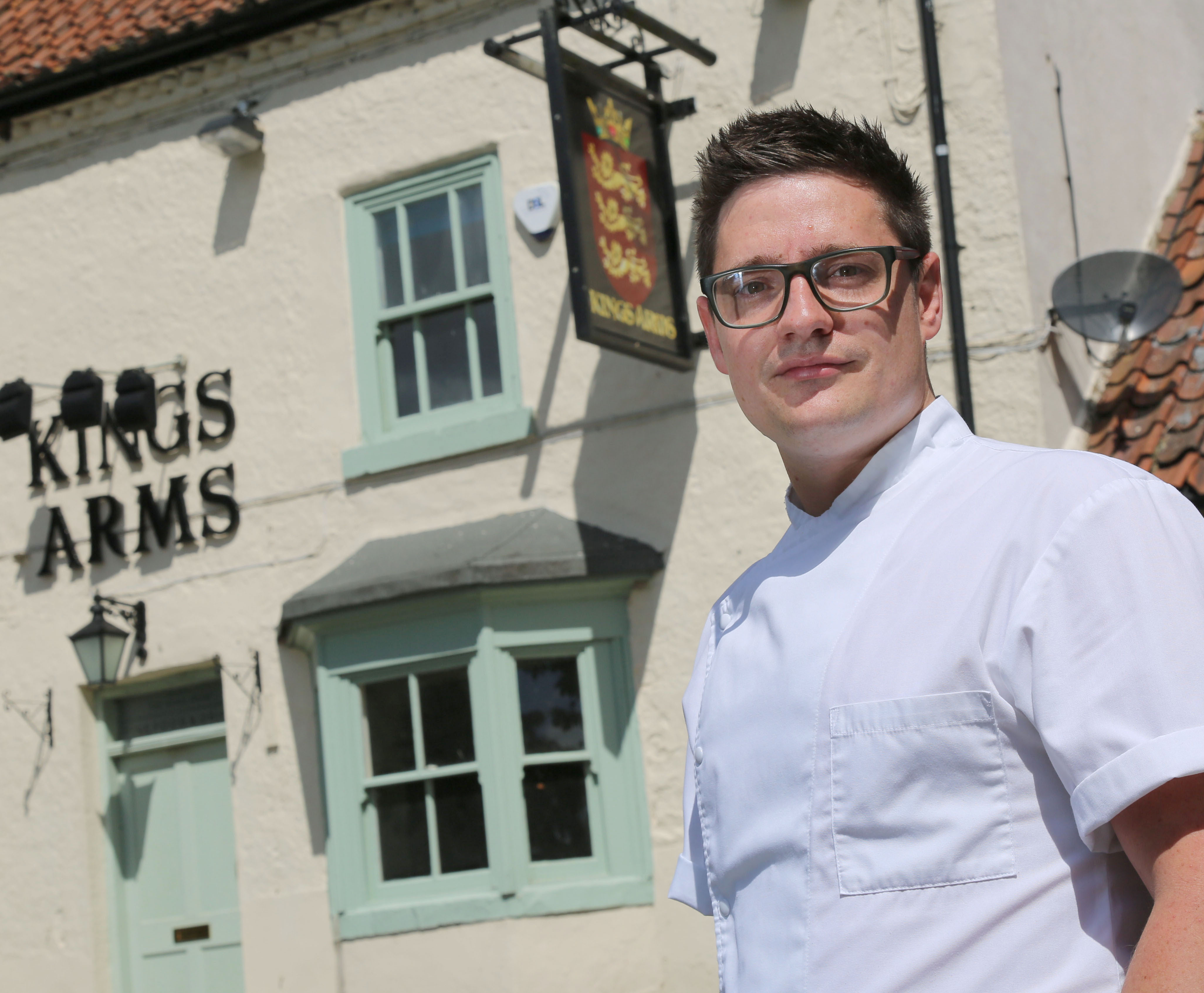 King's Arms Re-opens