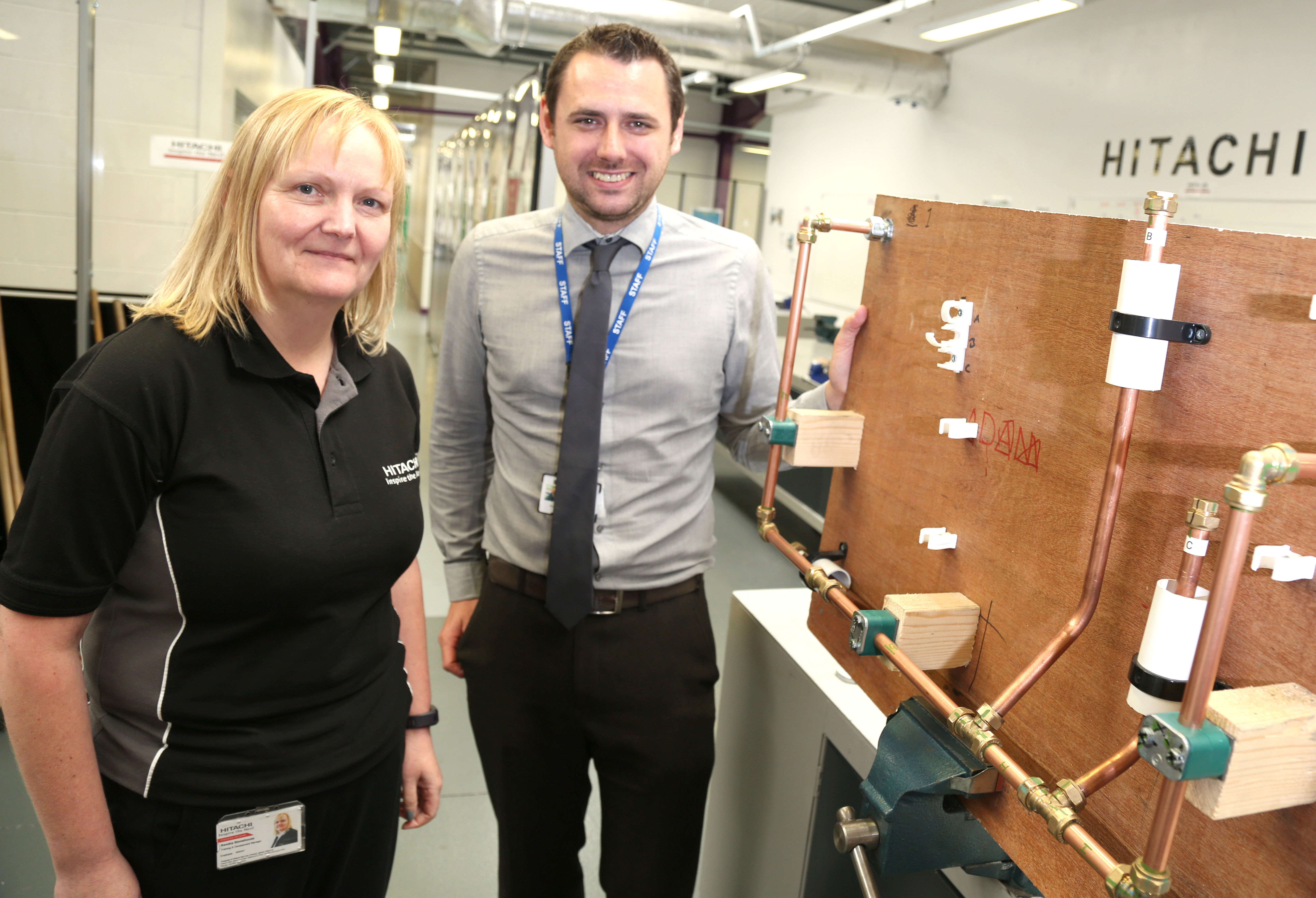 Hitachi Rail Skills on Track Thanks to Aycliffe's SWDT