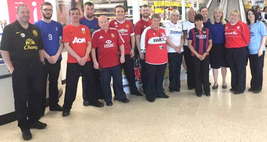 Tesco Staff Respect for Bradley