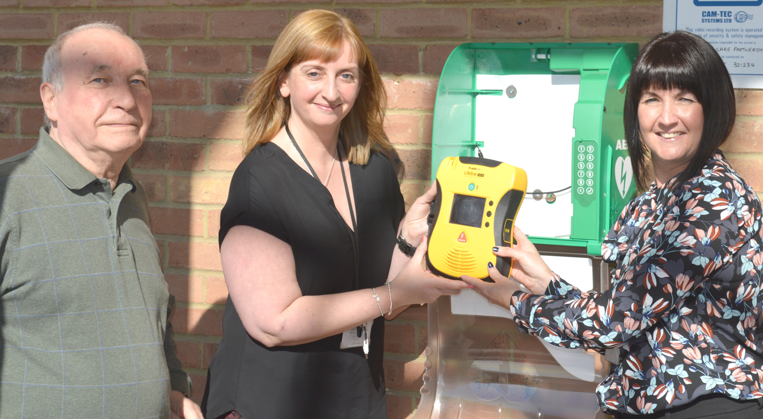 Town's Defibrillator Project is a Proven Life-Saver