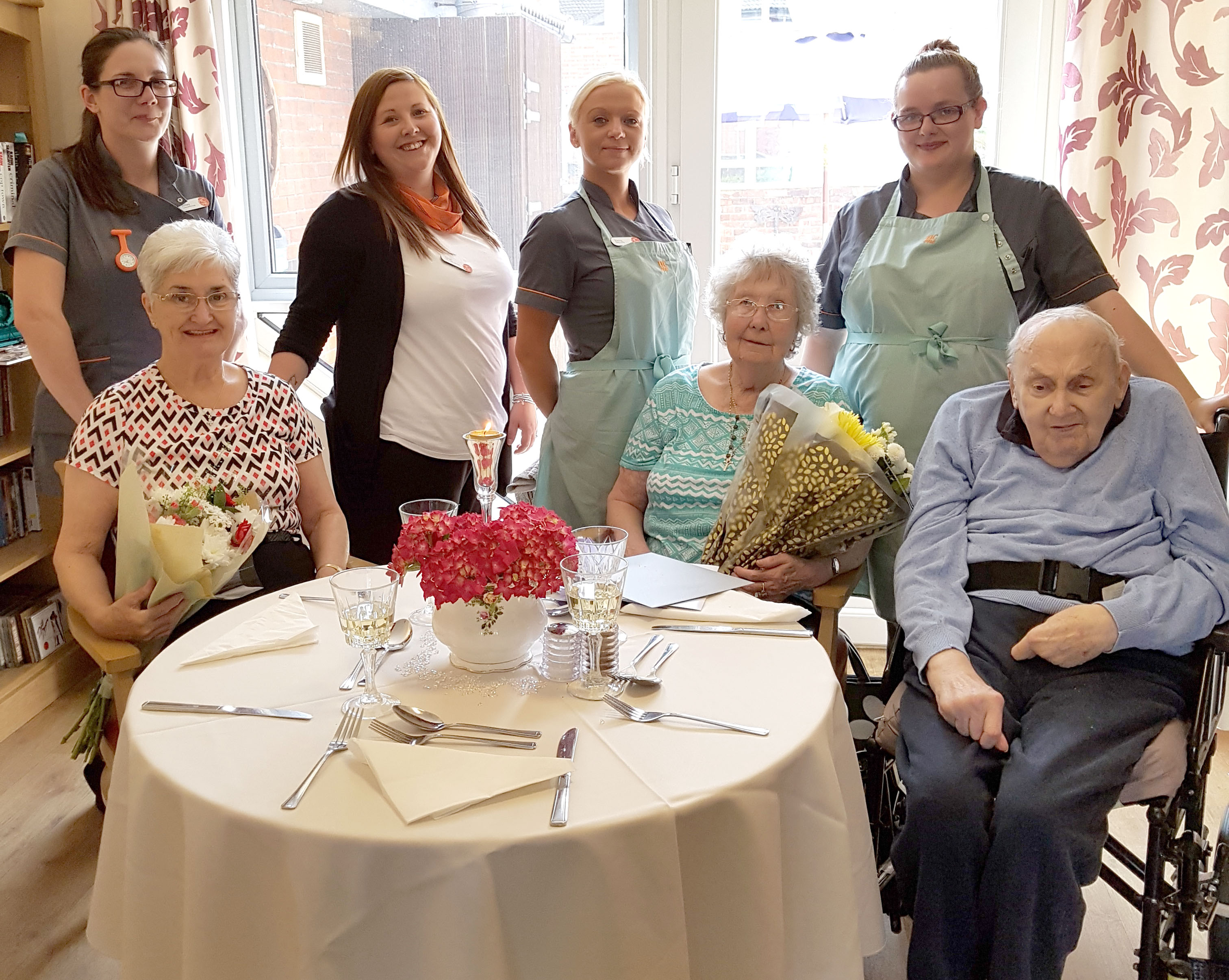 50th & 55th Wedding Anniversary Party at Defoe Care Home