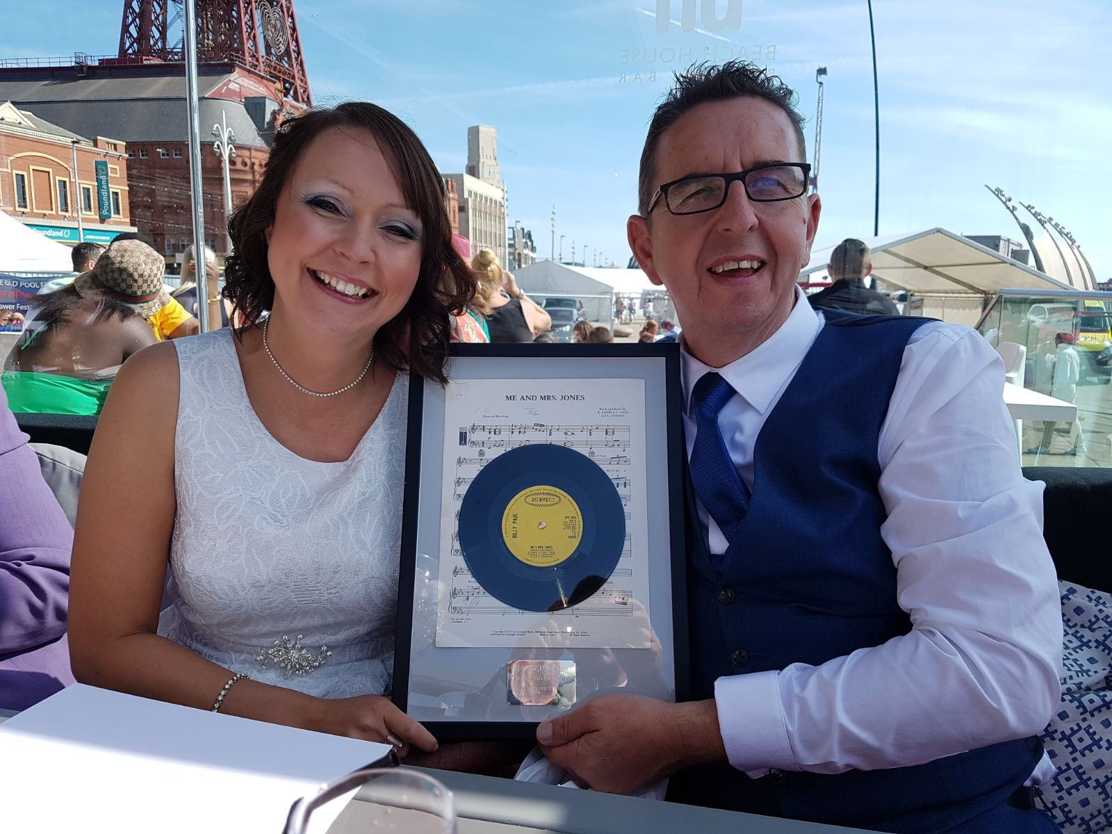 Local Couple Marry in Blackpool