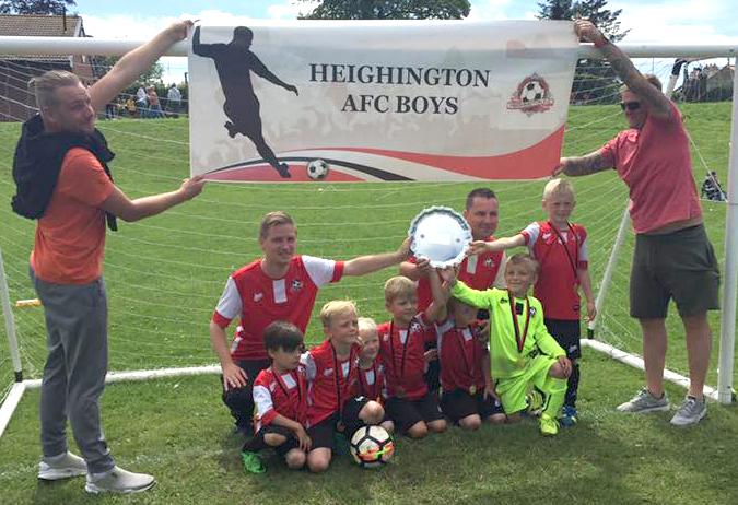 Heighington AFC Plate Winners