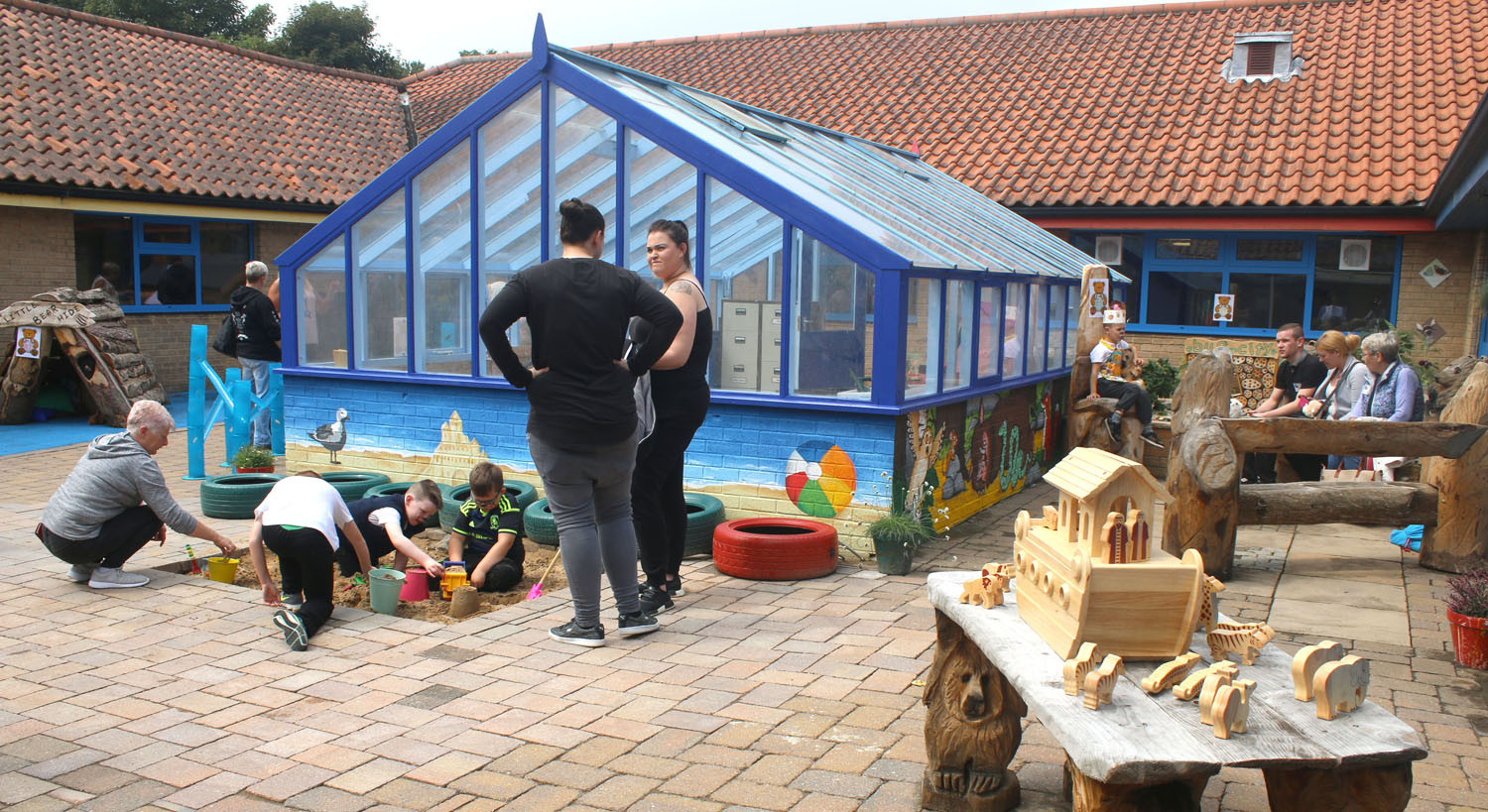 New Outdoor Learning Space at Walworth School