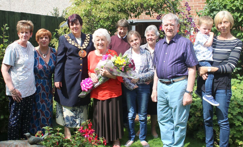 Aycliffe Couple Celebrate Diamond Anniversary