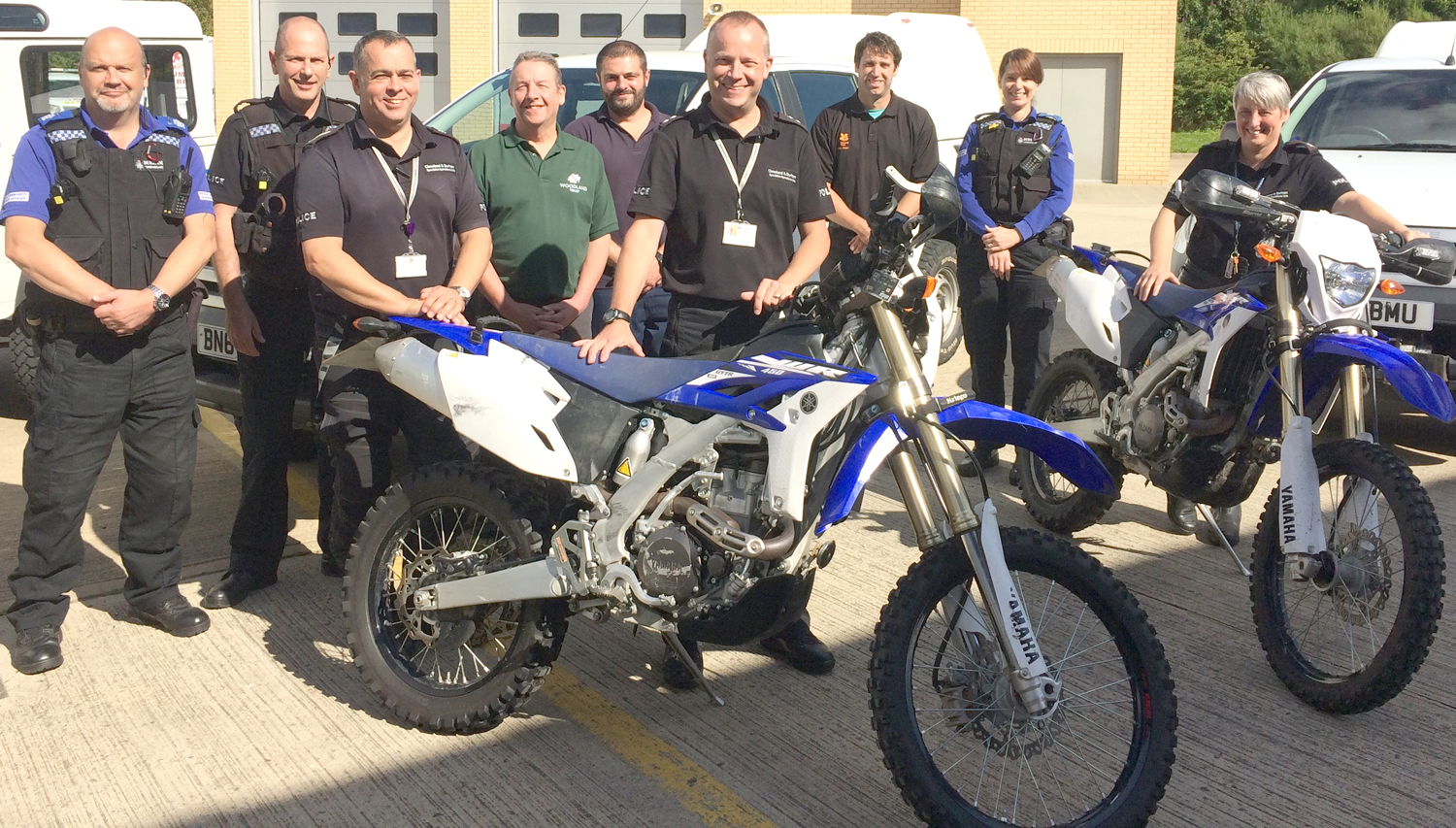 Nuisance Off-Road Bikers Targeted by Police