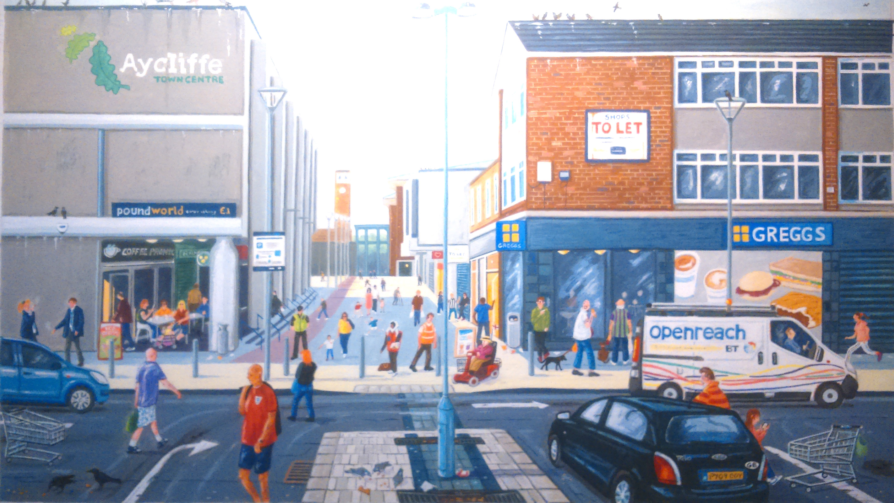 Greenfield Exhibition 'In and Around Town'