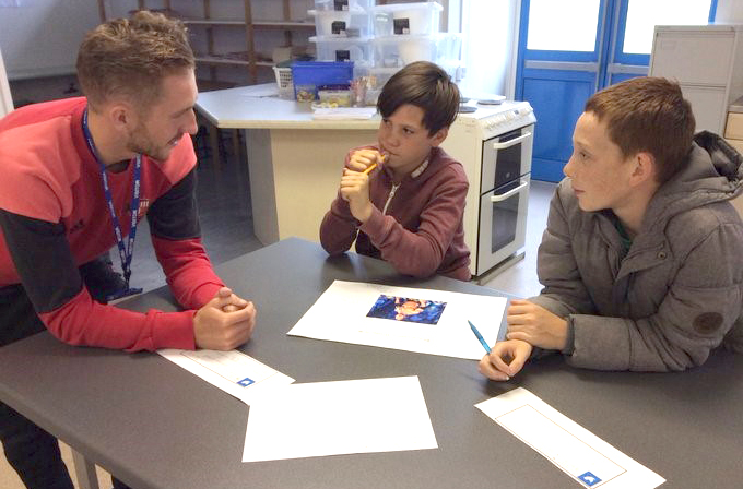 Students Gain Respect