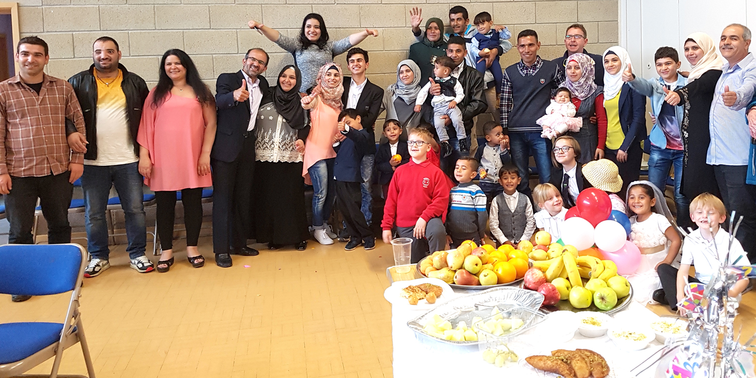 Thanks from Syrian Families