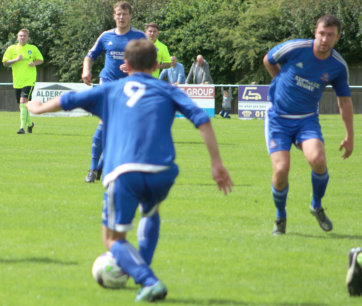 Strong Pre-Season Training by Aycliffe FC