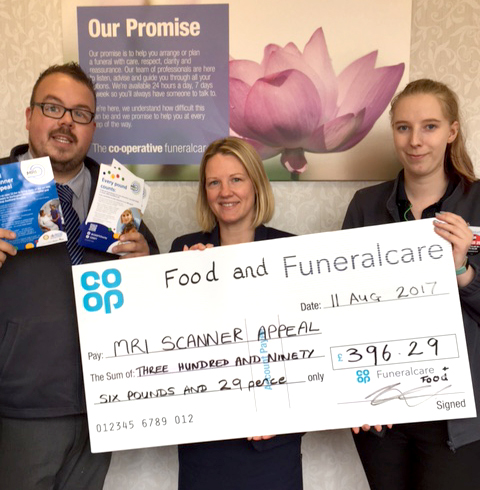 Co-op Raises Cash for MRI Scanner Appeal
