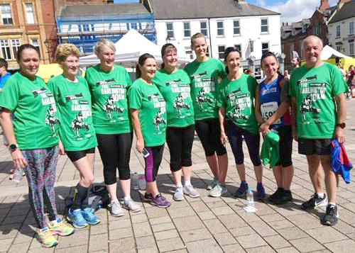 Aycliffe Club Compete in Darlington 10k Race