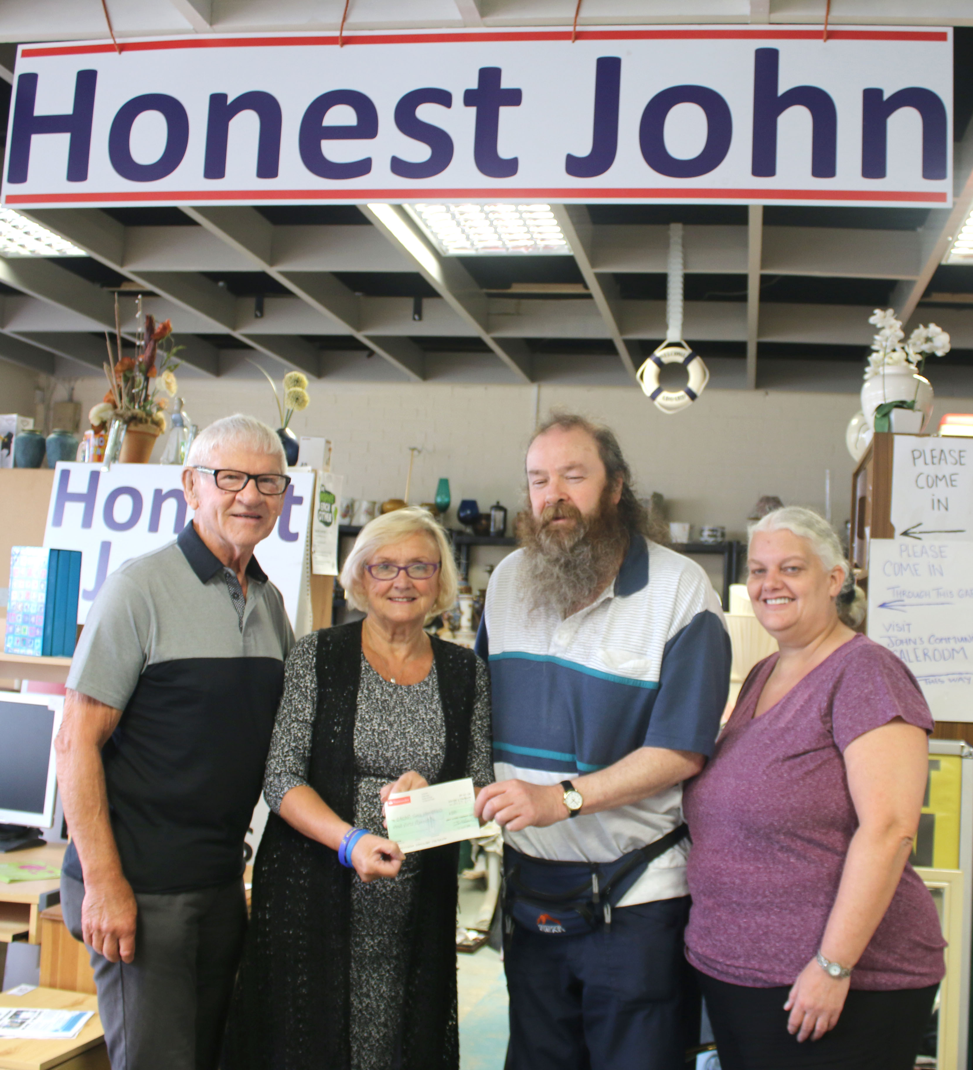 GACAP Donation from Honest John