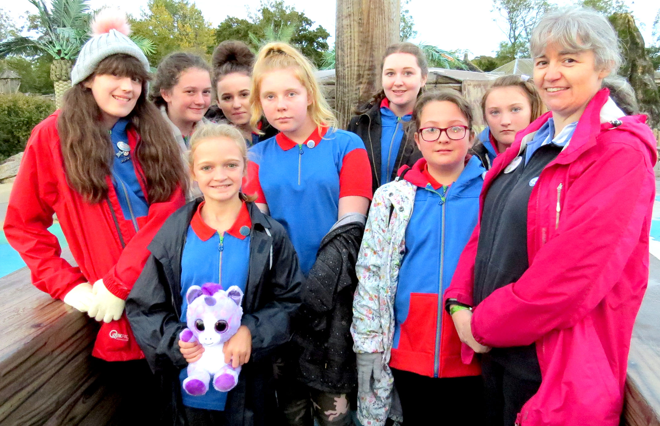 Aycliffe Rangers & Guides at Adventure Weekend