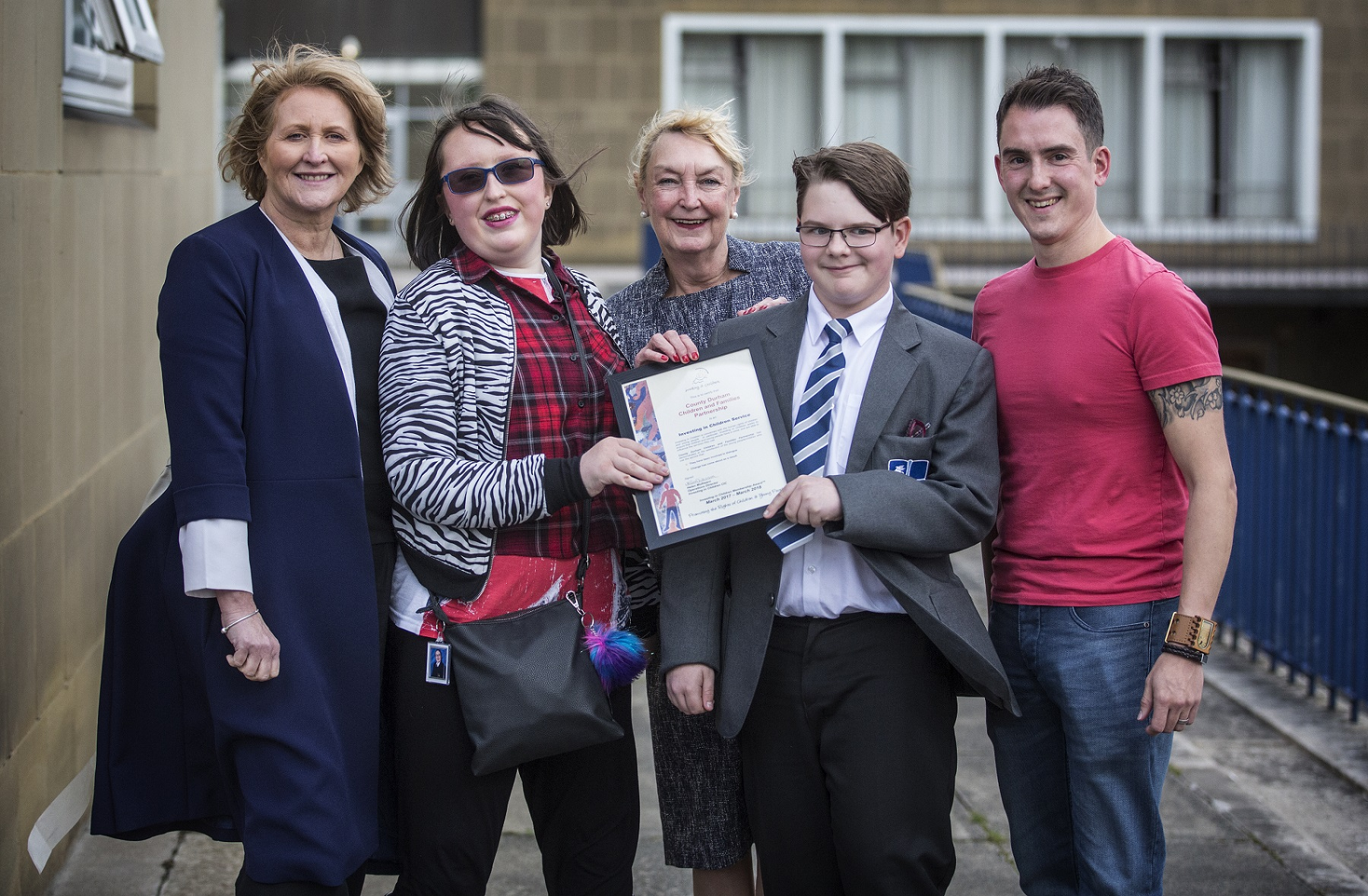 Children and Families Partnership Honoured