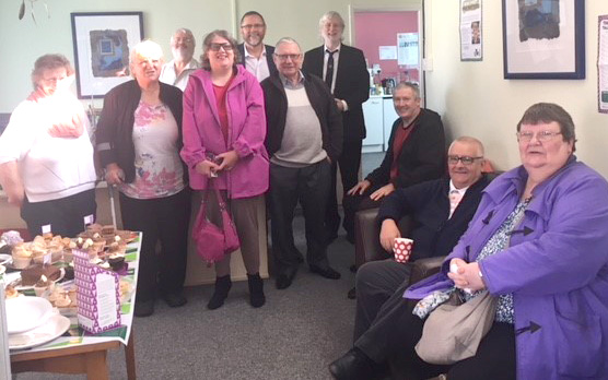 MP's Macmillan Coffee Morning Raised £215