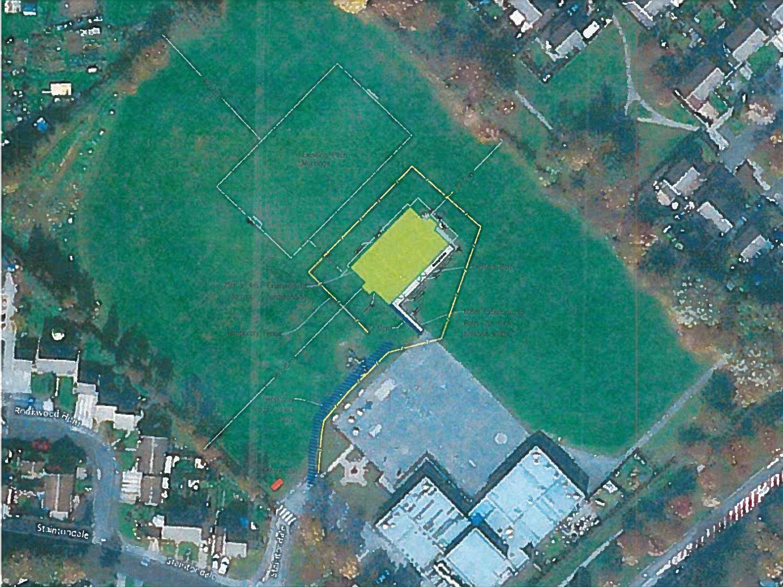 MUGA Site Plan for Byerley Park School