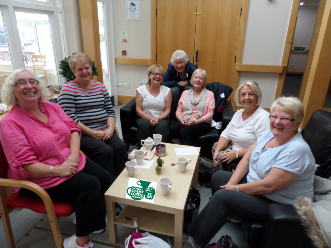 PCP Join the World's Biggest Coffee Morning