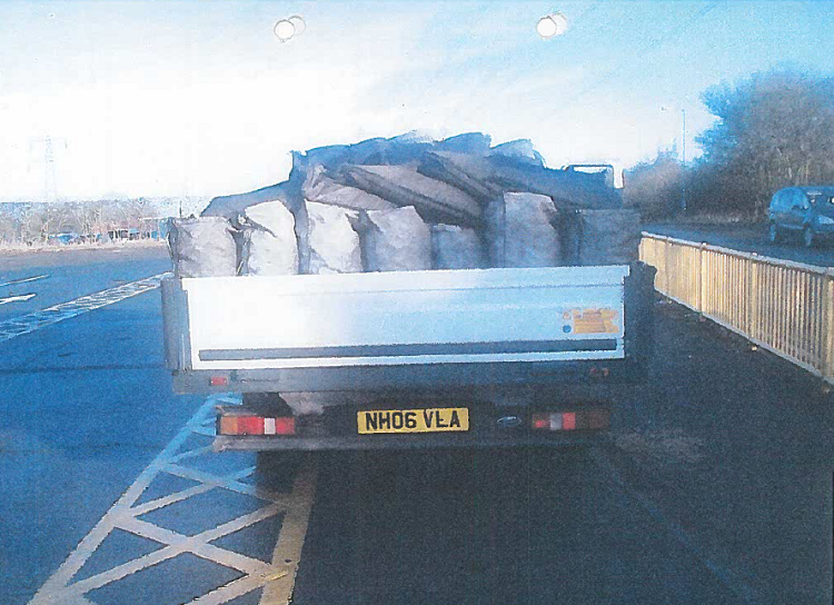 Driver Fined for Overloaded Vehicle