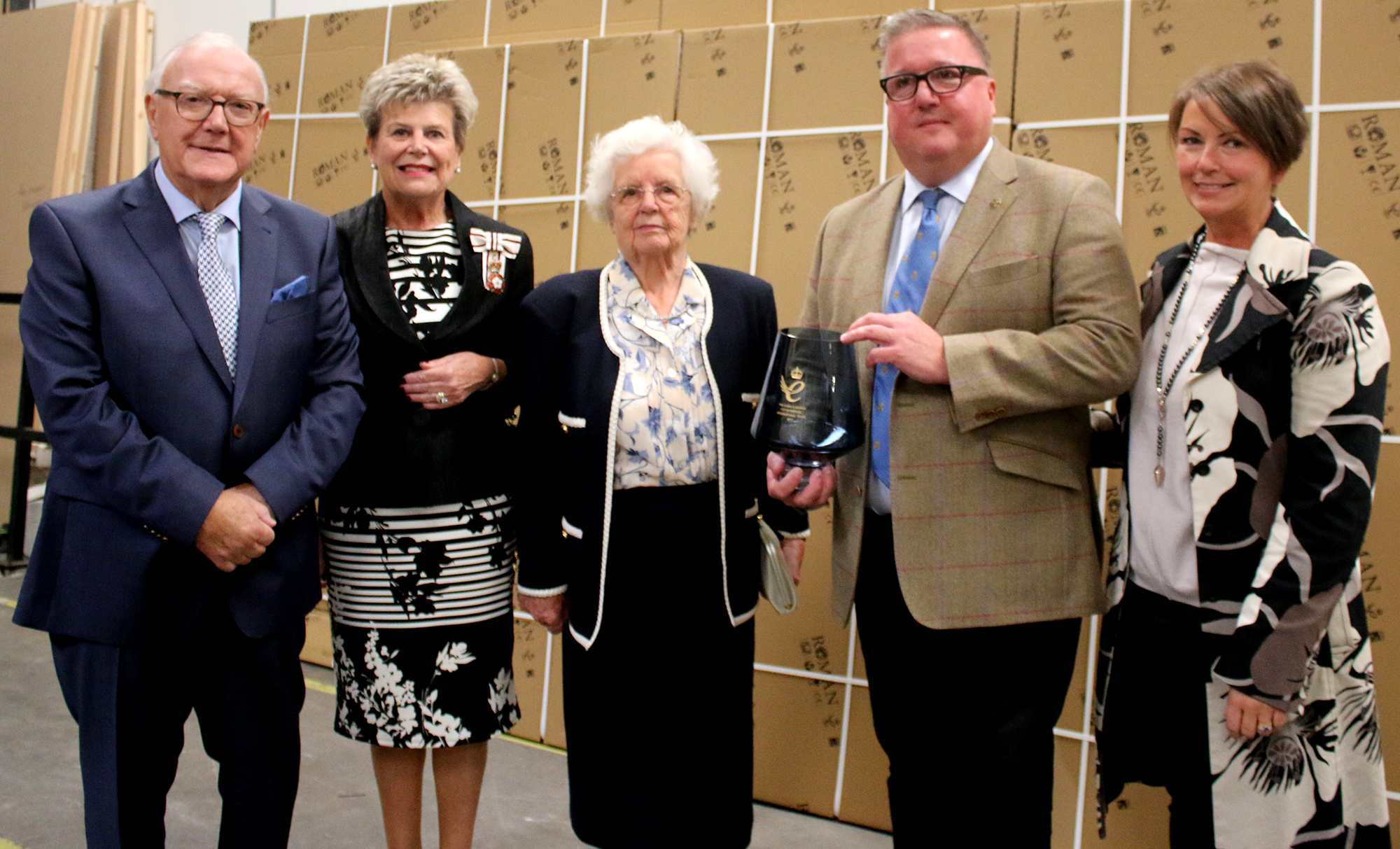 Roman – Aycliffe, Celebrate Queen's Award