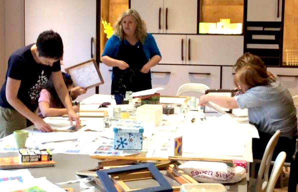 Silk Painting Classes