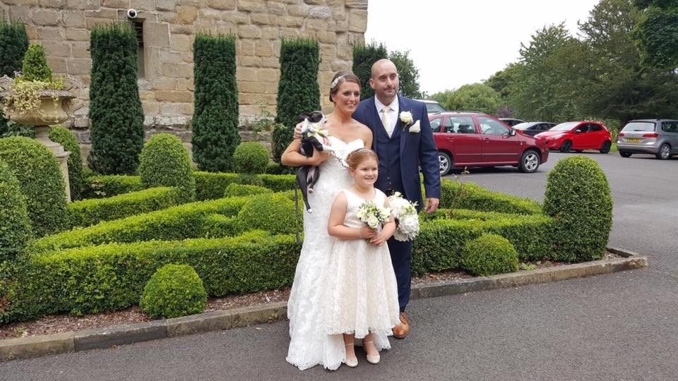 Aycliffe Couple Married at Langley Castle