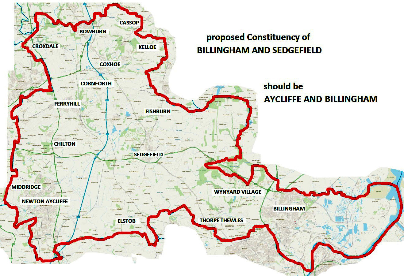 Bid to Change Name of New Constituency Boundary